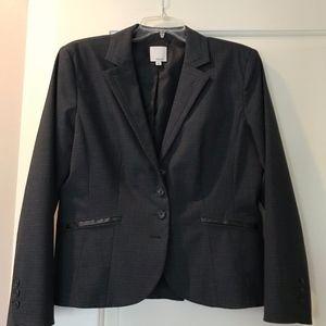 Nordstrom Halogen Grey Short Suit Jacket Size 12